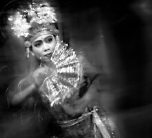 "Motion Dancer #24 - ""BW Version"" by Komang"