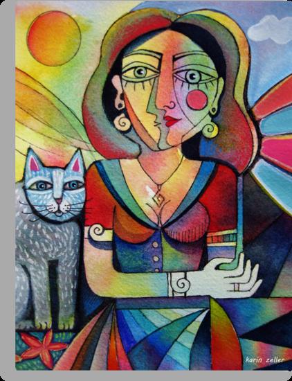 Picasso's Girlfriend by Karin Zeller