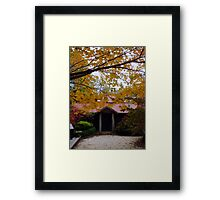 Mountain Cottage Framed Print