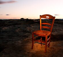Light on a Chair, Flat Rock by David Mapletoft