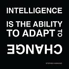 Intelligence ~Stephen Hawking by hmx23