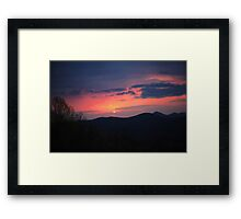 on top of the Smokey's Framed Print