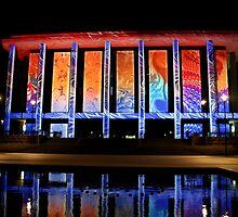 Enlighten - National Library 1 by Sally Haldane