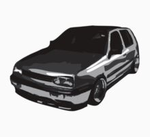MK3 Golf Splatter by Carl Eyre