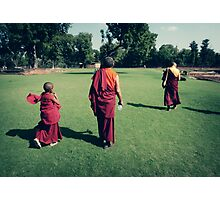 Pema, Venerable Khenchen Palden Sherab Rinpoche and Venerable Khenpo Tsewang Dongyal Rinpoche Photographic Print