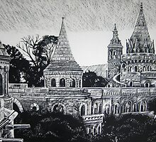 Budapest Castle by sunitha84