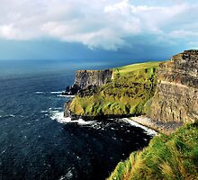 cliffs of moher by Michelle McMahon