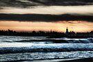 Tsunami Sunset by Andrew Simoni