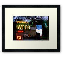 420... anytime Framed Print