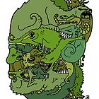 My Monster Face by Peter Maudsley
