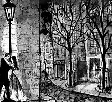lamp light serenade by Loui  Jover