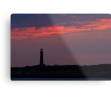 Thacher Island South Tower - Rocport Massachusetts Metal Print