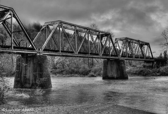 Train Trestle by LucyAbrao
