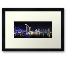 Marina Bay, Singapore Framed Print