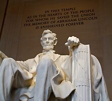Abraham Lincoln Memorial by Alex Eckermann