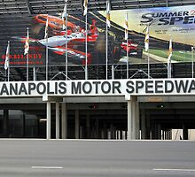 Indianapolis Motor Speedway  by Chris L Smith