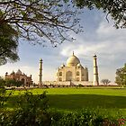 Taj Mahal, Agra India by Kelly McGill