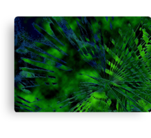 Abstract earth - land and sea Canvas Print