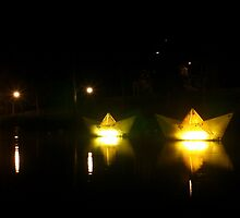 Lanterns Of Light by Cherie Vivar