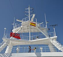 Lowering of the red ensign by Steve
