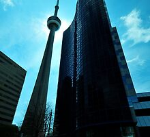 CN Tower by Vanessa Truter