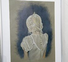 Girl with Plait by Lesley Rowe