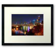 Brisbane • Queensland • Australia Framed Print