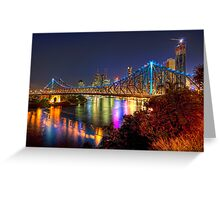 Brisbane • Queensland • Australia Greeting Card