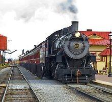 Old 475 Sitting at the Station by ©  Paul W. Faust