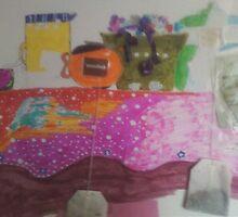 my tea party by Ethar Hamid