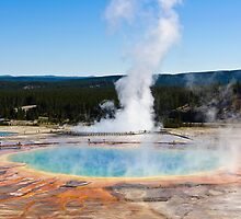 Grand Prismatic Spring by Cameron Booth