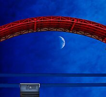The Red, the Blue, and the Moon by Richard Earl