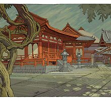 Kyoto Temple by David  Kennett