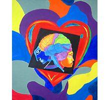 Head vs Heart. Photographic Print