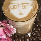 Latte Art- Face by Carly Haddad