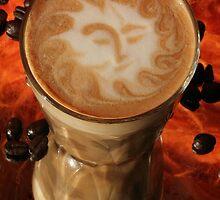 Latte Art-sun by Carly Haddad