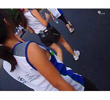 Hyundai Accent Run Photographic Print