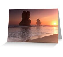 Gibson Steps, Port Campbell National Park, Victoria, Australia Greeting Card