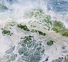 Storm Wave in Acadia by Kellypix