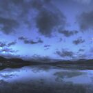 Twilight at Mawddach Estuary, Wales by Bob Culshaw