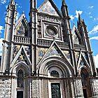 Soaring Duomo-Orvieto, Italy by Deborah Downes