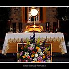 Our Lord in The Eucharist : Easter by Rose Santuci-Sofranko
