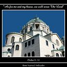 Our Lady of Victory Basilica - Joshua 24: 15 by Rose Santuci-Sofranko