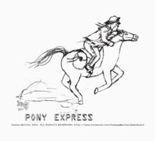 pony express by Dawna Morton
