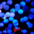 Round blue lights by remos