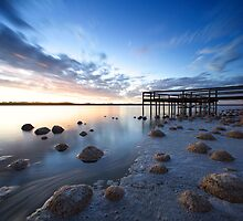 Evening At Lake Clifton by Chris Paddick