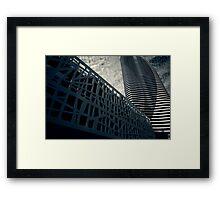 Broadbeach in Abstract Framed Print