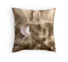 The power of Resurrection Throw Pillow
