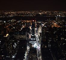 New York at night by contradirony