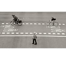 Crossing Photographic Print